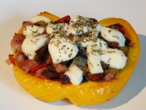 Poivrons farcis dinde/aubergine dans Cartes des Plats p1120283-300x225